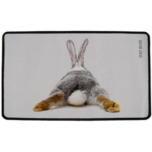 Butter Kings Vnútorná multifunkčná rohožka Rabbit, 75 x 45 cm