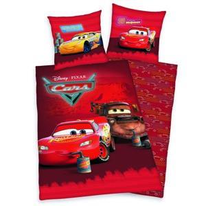 Herding Detské bavlnené obliečky Cars Relax, 140 x 200 cm, 70 x 90 cm