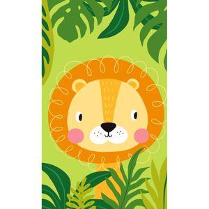 Carbotex Detský uterák Lev v džungli, 30 x 50 cm