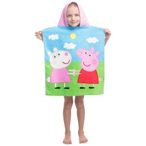 Jerry Fabrics Detské pončo Peppa Pig 013, 50 x 115 cm