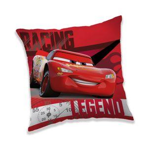 Jerry Fabrics Vankúšik Cars Legend, 40 x 40 cm