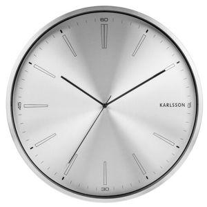 Karlsson 5811SI Dizajnové nástenné hodiny pr. 40 cm