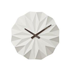 Karlsson KA5531WH Designové nástenné hodiny, 27 cm