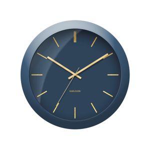 Designové nástěnné hodiny 5840BL Karlsson 40cm