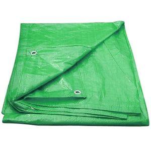 M.A.T. plachta zakrývací s oky 100g/m² 4x6m zelená
