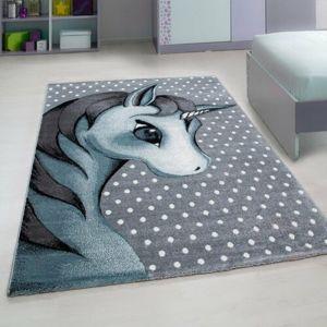Vopi Kusový detský koberec Kids 590 blue, 80 x 150 cm