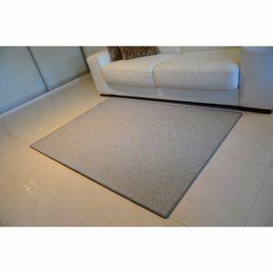 Vopi Kusový koberec Nature sivá, 60 x 110 cm