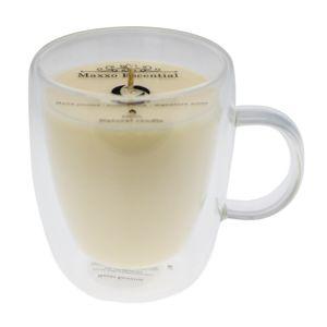 Maxxo Escential Sviečka v skle Vanilla, prírodný vosk, 300 g