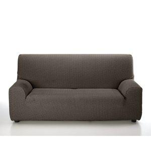Forbyt Multielastický poťah na sedaciu súpravu Sada hnedá, 240 - 270 cm