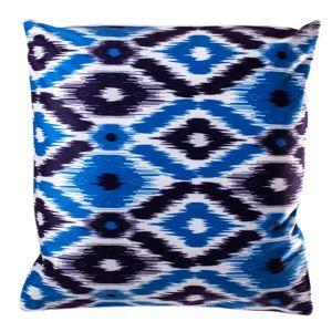 Jahu Obliečka na vankúšik Azték modrá, 40 x 40 cm