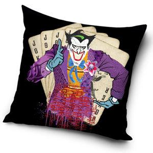 TipTrade Obliečky na vankúšik Batman Arkham Asylum Joker Agent of Chaos, 45 x 45 cm