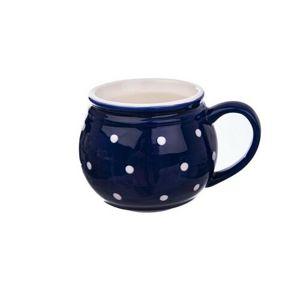 Orion Keramický hrnček Krajáč 0,2 l, modrá/malá bodka