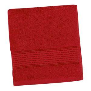 Bellatex Osuška Kamilka Prúžok červená, 70 x 140 cm