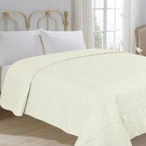 Jahu Prehoz na posteľ Alfa béžová, 220 x 240 cm