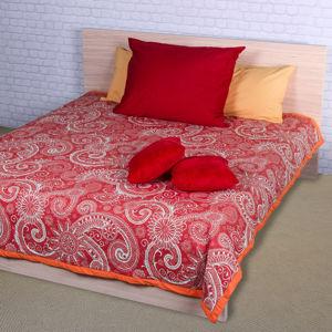 Night in Colours Prehoz na posteľ Sal červená/biela
