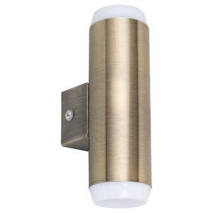 Rabalux 8939 Catania Vonkajšie LED nástenné svietidlo, hnedá