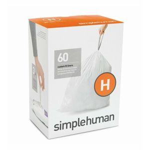 Vrecia do odpadkového koša 30-35 L, Simplehuman typ H zaťahovacie, 3 x 20 ks (60 vriec) WP