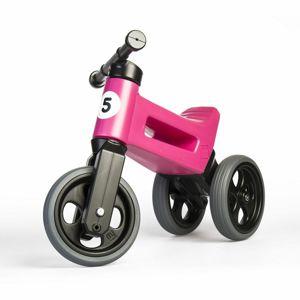 Teddies FUNNY WHEELS Rider Sport růžové 2v1 28/30cm