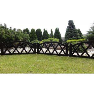 Záhradný plôtik 2,3 m hnedá